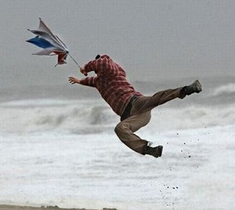 It'll be wet and very windy this November