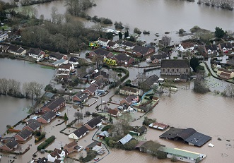 Severe flooding hit the Somerset Levels in both 2012 and 2014