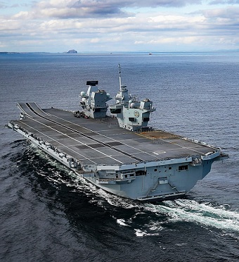 HMS Prince of Wales. Image MoD Crown Copyright.